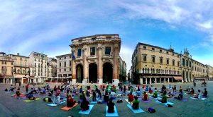 Giornata mondiale dello yoga a Vicenza